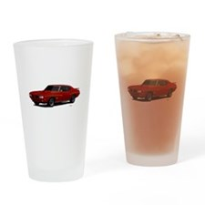 1970 GTO Judge Cardinal Red Drinking Glass