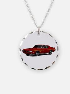 1970 GTO Judge Cardinal Red Necklace