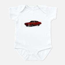 1970 GTO Judge Cardinal Red Infant Bodysuit