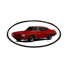 1970 GTO Judge Cardinal Red Patches