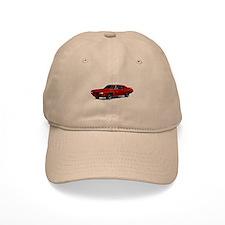 1970 GTO Judge Cardinal Red Baseball Cap