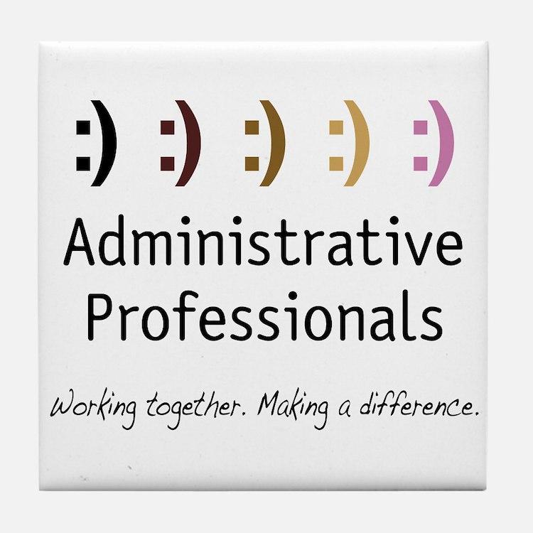 Working Together Tile Coaster