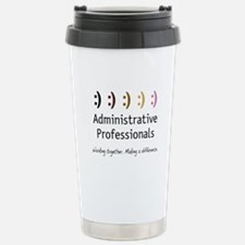 Working Together Stainless Steel Travel Mug