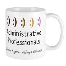 Working Together Lefty Mug