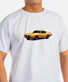 1970 GTO Judge Orbit Orange T-Shirt