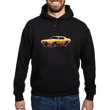 1970 GTO Judge Orbit Orange Hoodie