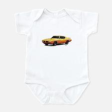 1970 GTO Judge Orbit Orange Infant Bodysuit
