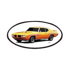 1970 GTO Judge Orbit Orange Patches