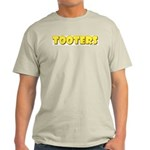 Tooters Ash Grey T-Shirt