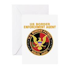 Border Patrol -  Greeting Cards (Pk of 10)