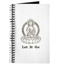 Vintage Buddha Let It Go Journal