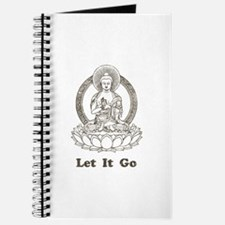 Vintage Buddha Let It Go Journal