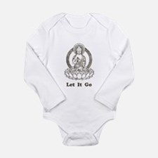Vintage Buddha Let It Go Long Sleeve Infant Bodysu