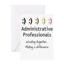 Working Together Greeting Card