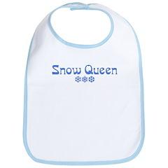 Snow Queen Bib