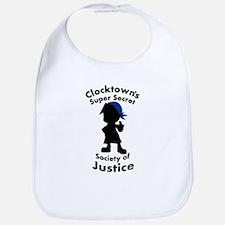 Clocktown Bomber Blue Bib