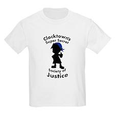 Clocktown Bomber Blue T-Shirt