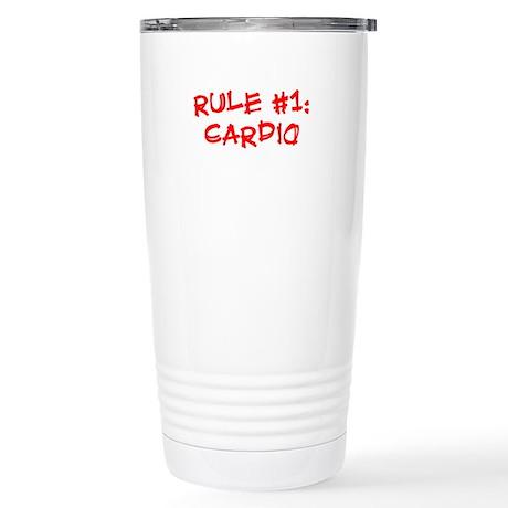 Rule #1 Stainless Steel Travel Mug