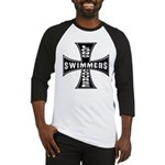 Long Course Swimmers Baseball Jersey
