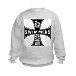 Long Course Swimmers Kids Sweatshirt