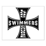 Long Course Swimmers Small Poster