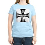 Long Course Swimmers Women's Pink T-Shirt