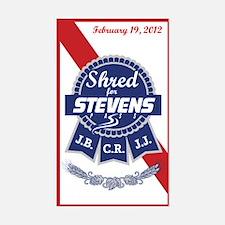 Shred for Stevens Pass Sticker (Rectangle)