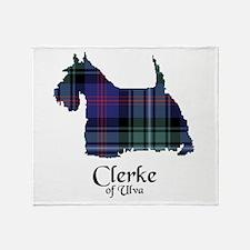 Terrier - Clerke of Ulva Throw Blanket