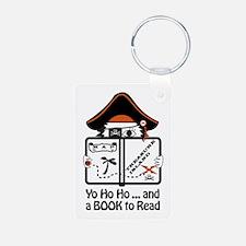 Pirate Reader Keychains
