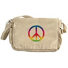 Peace Symbol Messenger Bag