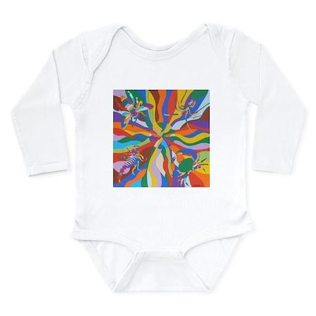 Circle Time Long Sleeve Infant Bodysuit
