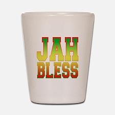 Jah Bless Shot Glass