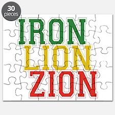 Iron Lion Zion Puzzle