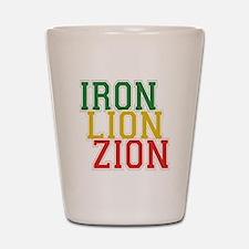 Iron Lion Zion Shot Glass