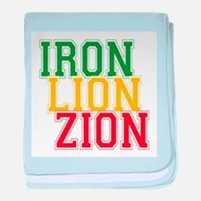 Iron Lion Zion baby blanket