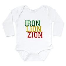 Iron Lion Zion Long Sleeve Infant Bodysuit