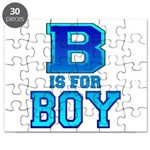 B is for Boy Puzzle