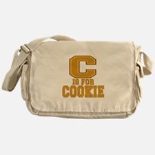 C is for Cookie Messenger Bag
