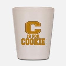 C is for Cookie Shot Glass