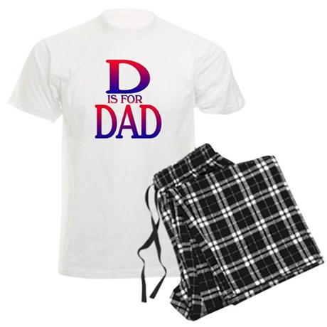 D is for Dad Men's Light Pajamas