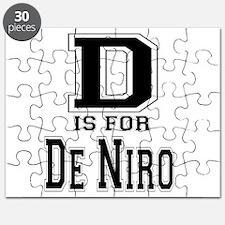 D is for De Niro Puzzle