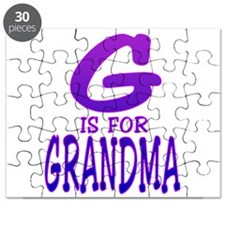 G is for Grandma Puzzle