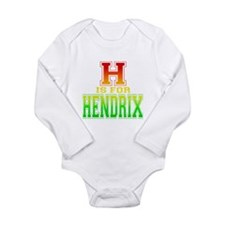 H is for Hendrix Onesie Romper Suit