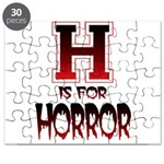 H is for Horror Puzzle