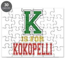 K is for Kokopelli Puzzle