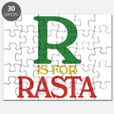 R is for Rasta Puzzle