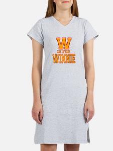 W is for Winnie Women's Nightshirt