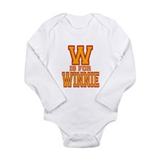 W is for Winnie Baby Suit
