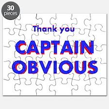 Thank you Captain Obvious Puzzle