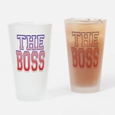 The Boss Drinking Glass